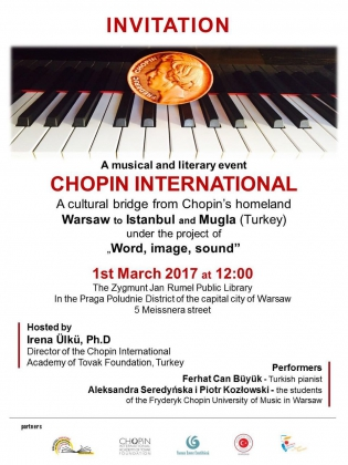 A Cultural Bridge From Chopin's Homeland Warsaw to Istanbul and Mugla (Turkey)