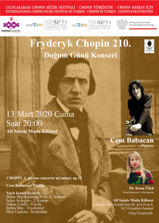 Frydeck Chopin 210th Birthday Concert